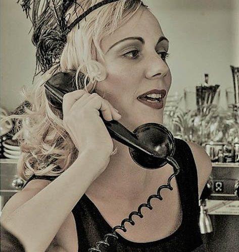20er Telefon Makeup