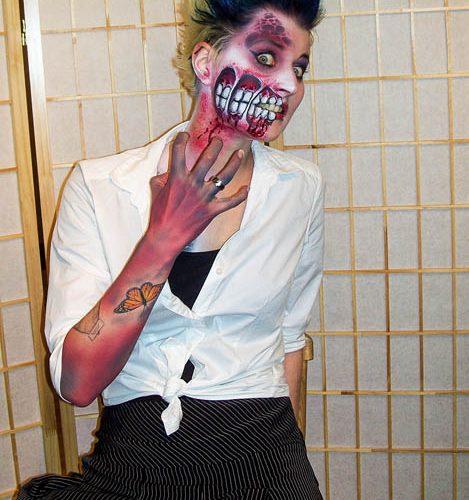 Facepainting Halloween