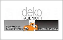 deko HABENICHT